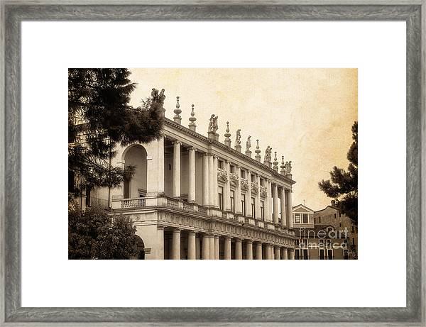 Palazzo Chiericati Framed Print