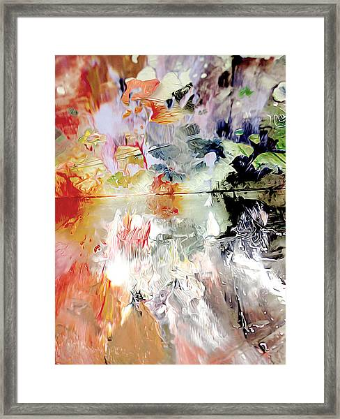 Framed Print featuring the photograph Palette by Meghan OHare