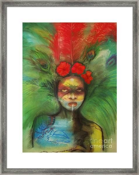 Pali Framed Print