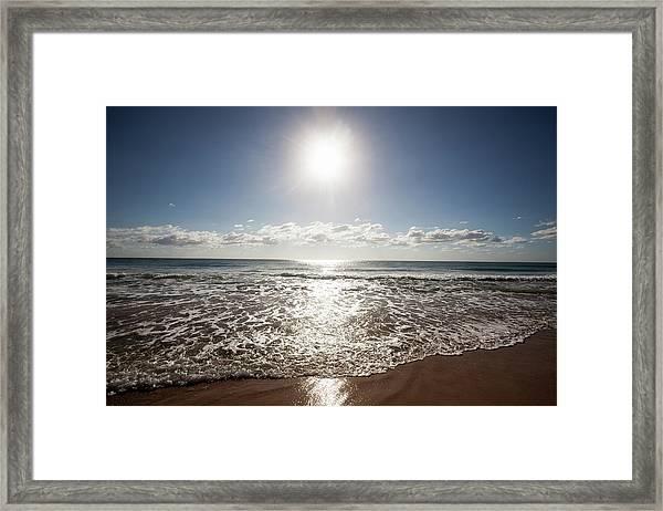 Palm Beach, Gold Coast, Queensland Framed Print