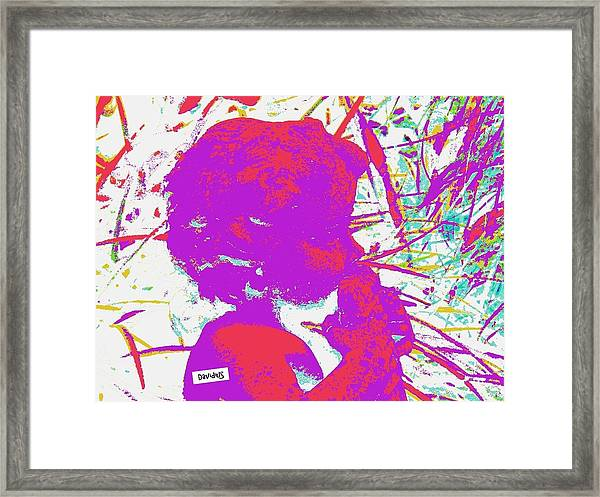 Pan Boy Lightwave Framed Print