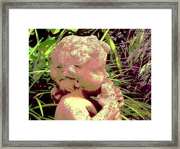 Pan W Pipes Framed Print