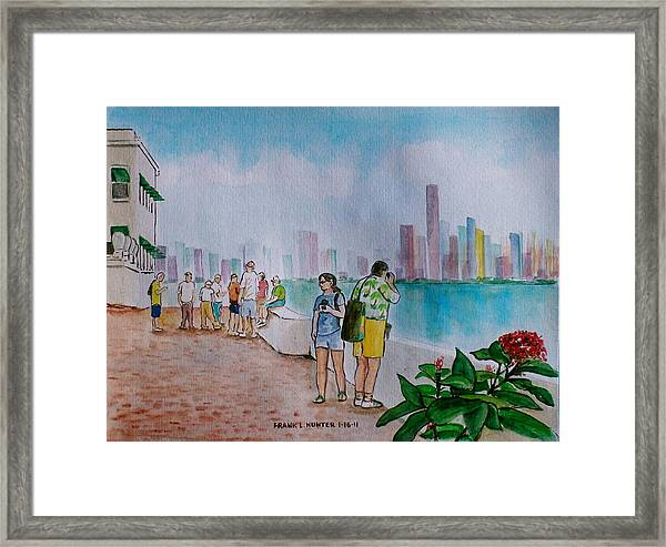 Panama City Panama Framed Print