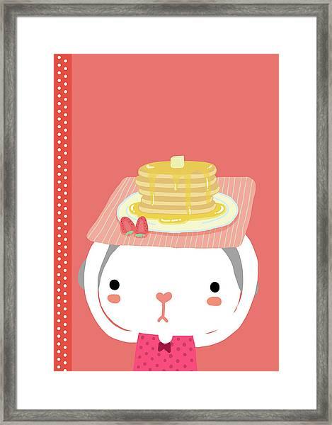 Pancake Framed Print