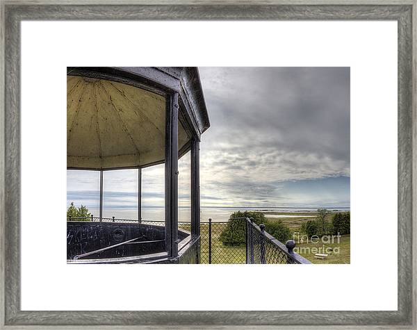Paninsula Point Lighthouse Lantern Room Framed Print by Twenty Two North Photography