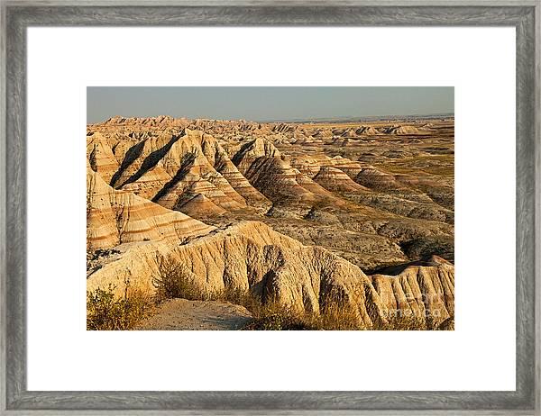 Panorama Point Badlands National Park Framed Print