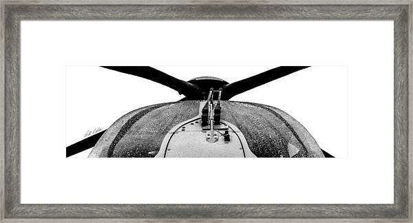 Panorama Windshield Framed Print by Bill Kesler
