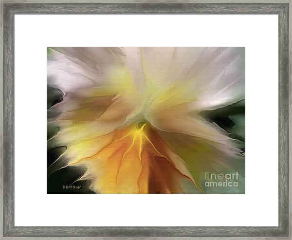 Pansy Art Framed Print