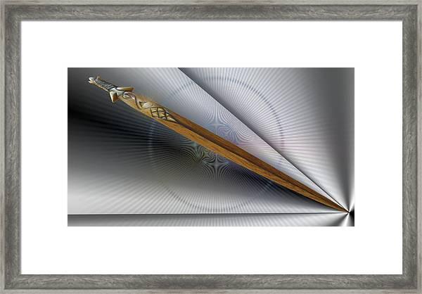 Paper Cut Framed Print
