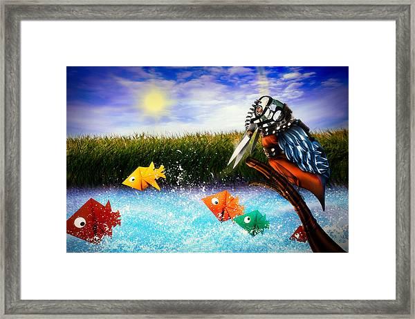 Paper Dreams Framed Print