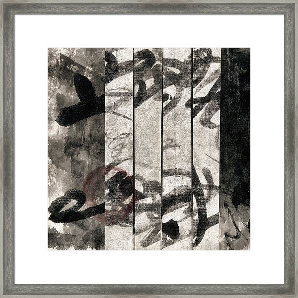 Paper Walls Framed Print