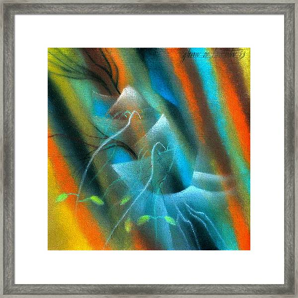 Parable Of The Sower '83 Framed Print