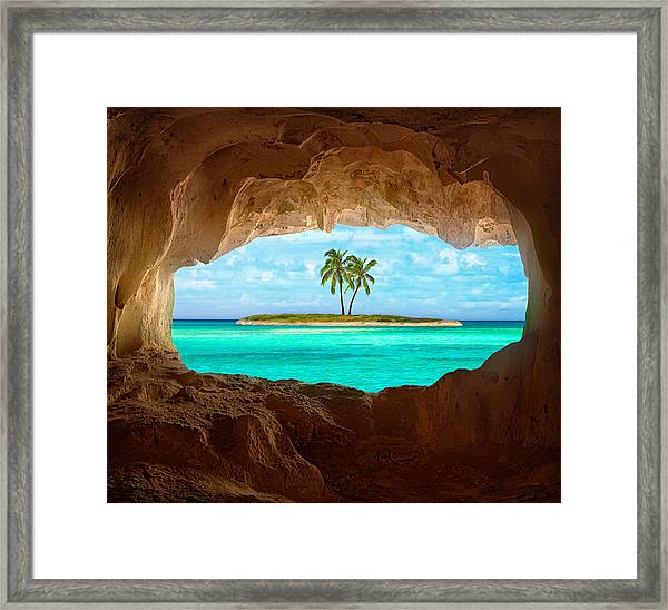 Paradise Framed Print by Matt Anderson