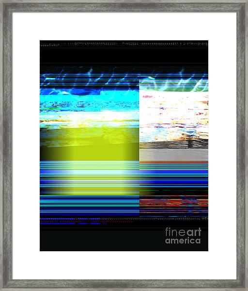 Parallel 1 Framed Print