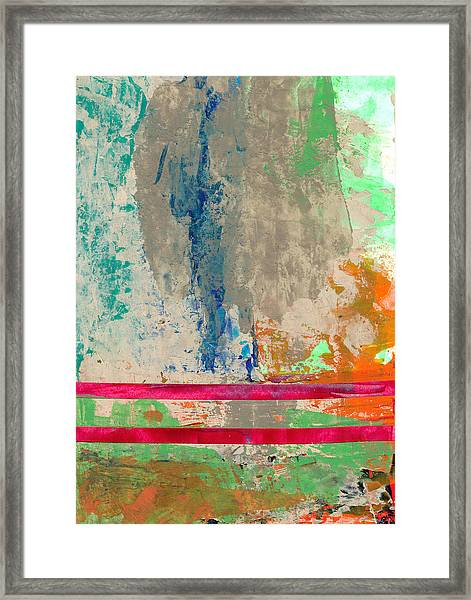 Parallel Paths Framed Print