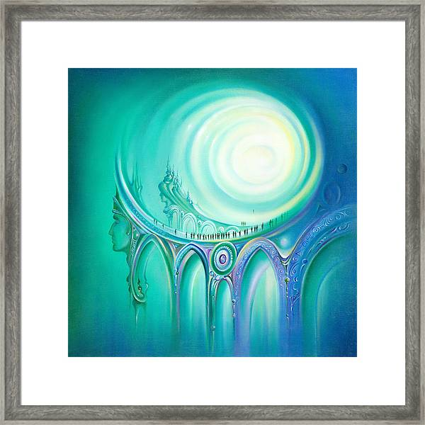 Parallel Ways Framed Print