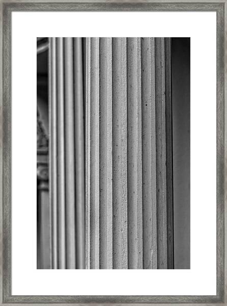 Parallelism Framed Print by Robert Ullmann