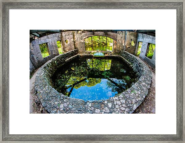 Paridise Springs Framed Print