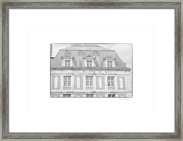 Paris House Framed Print