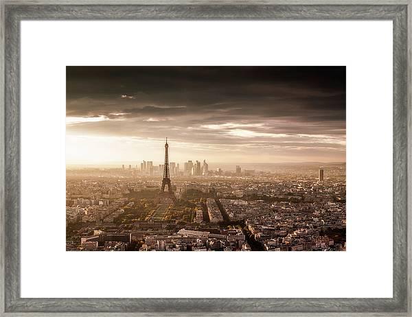 Paris Magnificence Framed Print