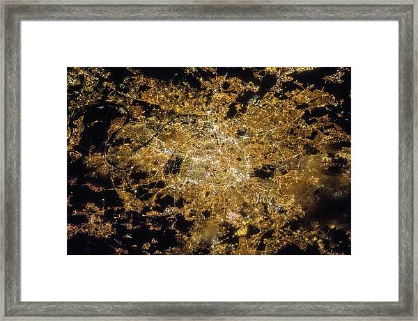 Paris Framed Print by Nasa/science Photo Library