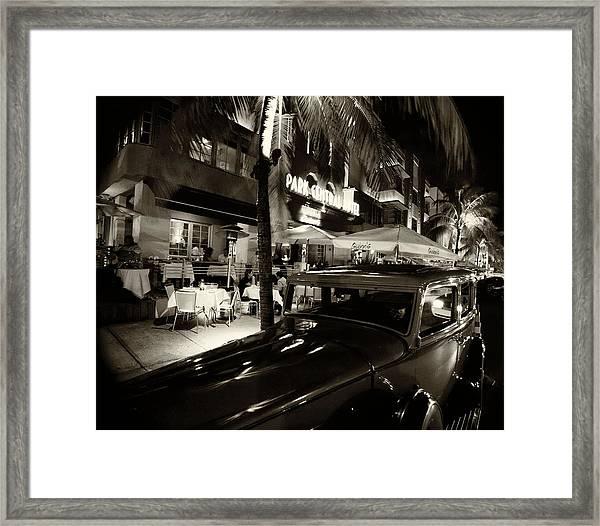Park Central Hotel Framed Print