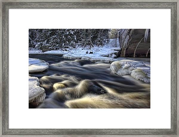 Eau Claire Dells Park Framed Print