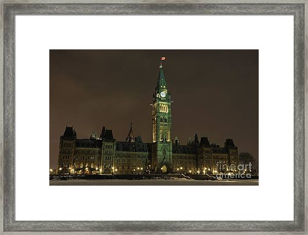Parliament Hill Framed Print