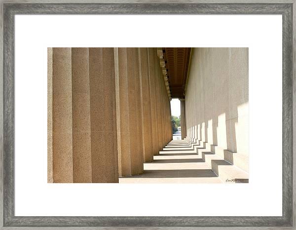 Parthenon1 Nashville Tn Framed Print