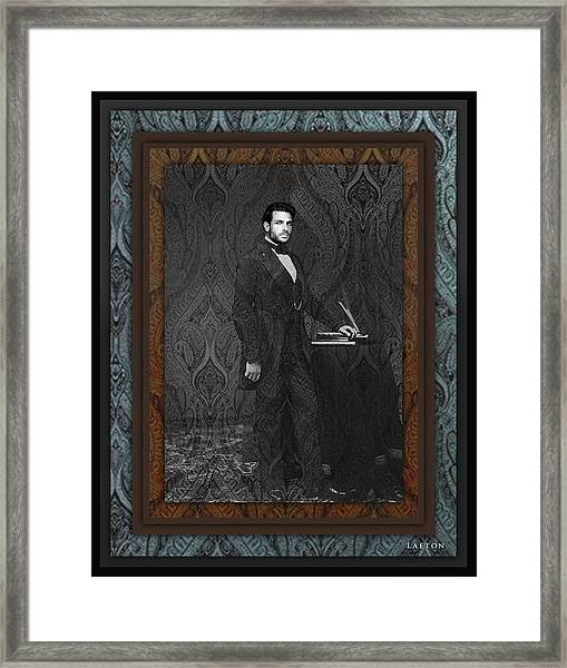 Party Of One? Framed Print