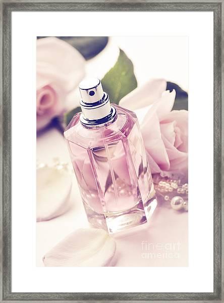 Parume Bottle Framed Print