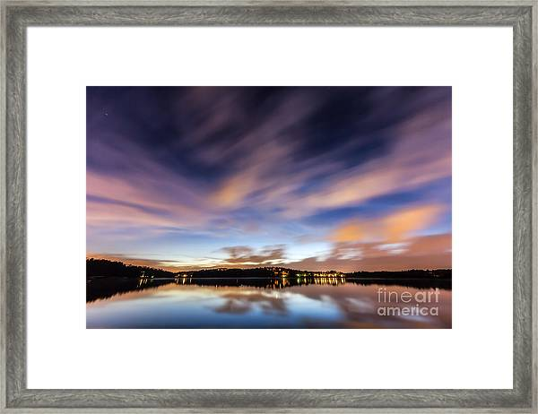 Passing Storm Framed Print
