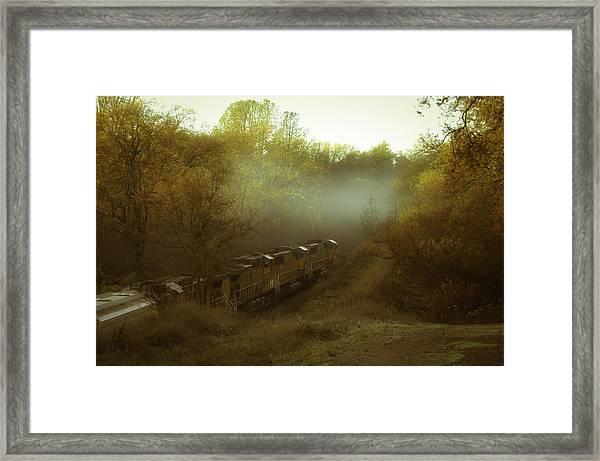 Passing Through Auburn Framed Print