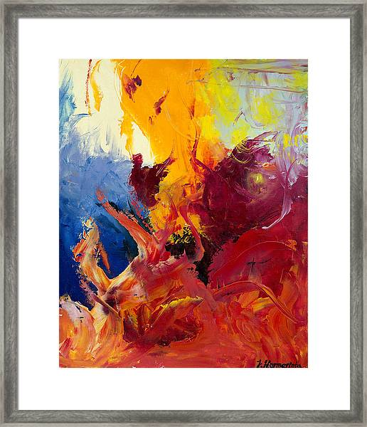 Passion 1 Framed Print