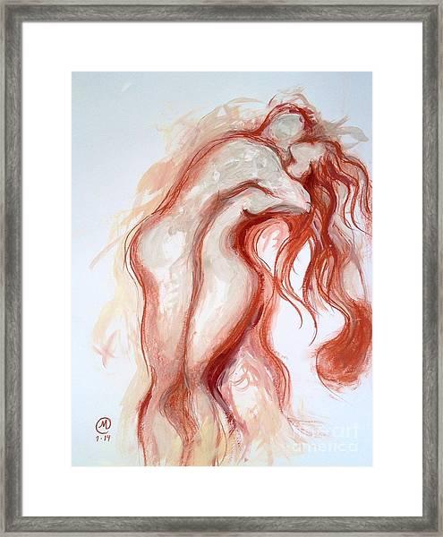 Passion Dance Framed Print