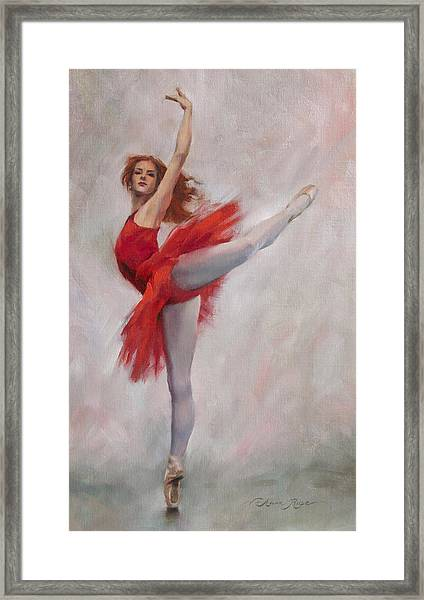 Passion In Red Framed Print
