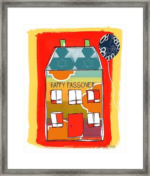 Passover House Framed Print
