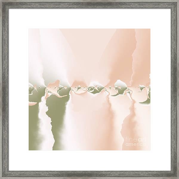 Past Framed Print