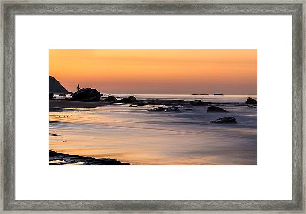 Past Meets Present By Denise Dube Framed Print