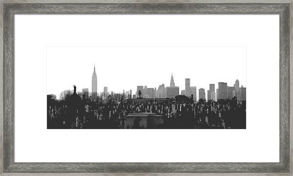 Past Present Future Framed Print