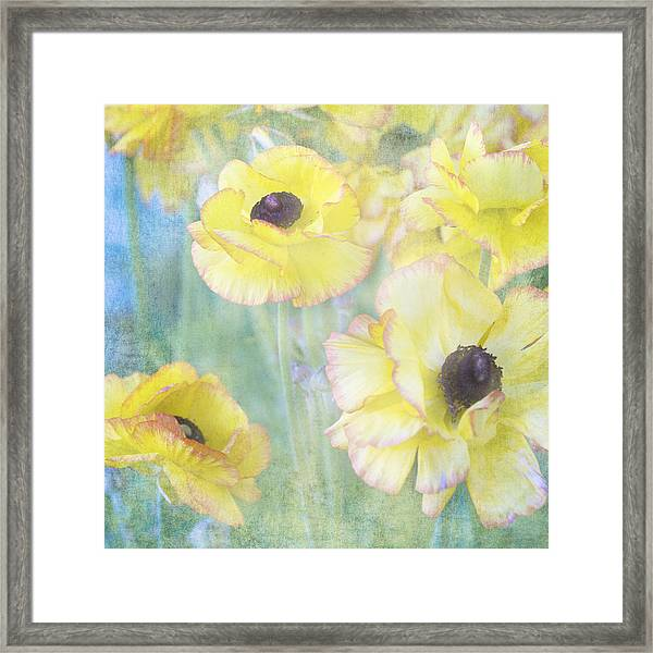 Pastel Perfection Framed Print