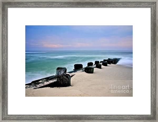 Pastel Waters Framed Print