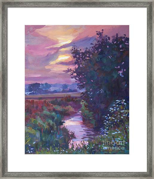 Pastoral Morning Framed Print