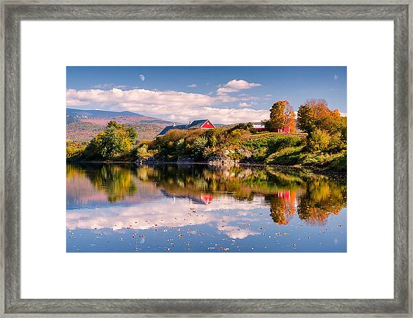 Pastoral Reflection Framed Print