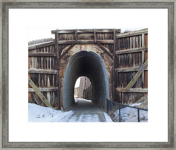 Path In History Framed Print