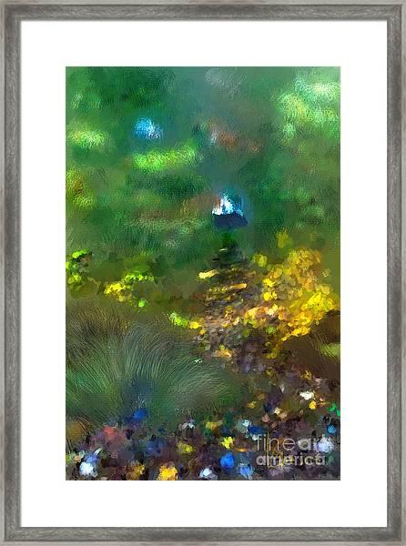 Path Framed Print