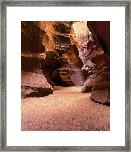 Path Through Time Framed Print