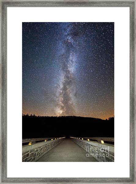 Path To Our Galaxy   Framed Print