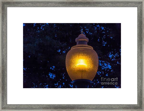 Pathlight Framed Print