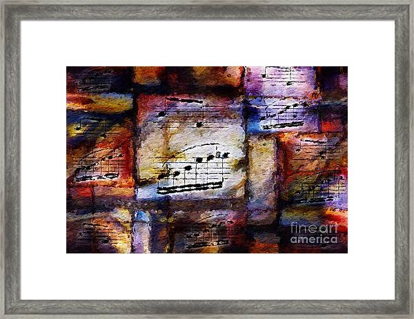 Patio Partita Framed Print
